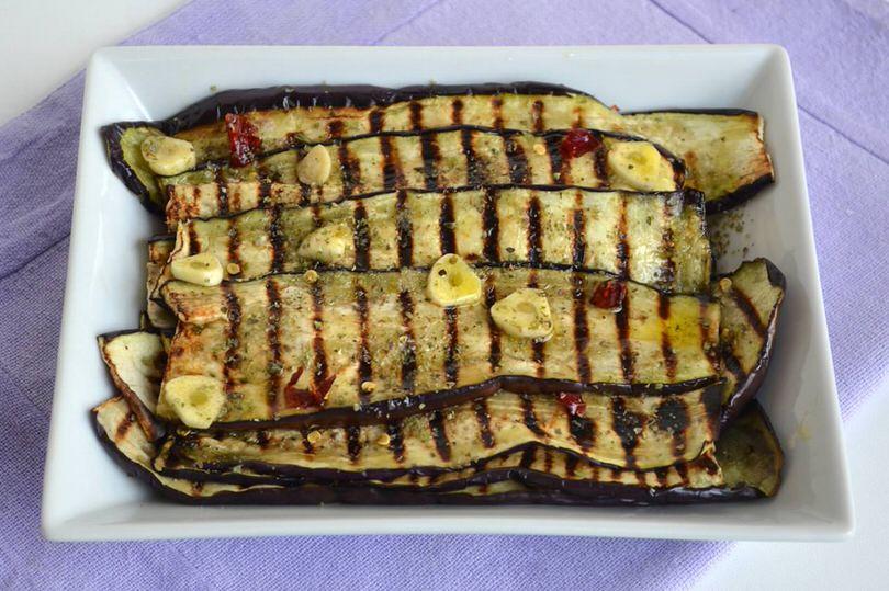 Melanzane grigliate  Ricetta Melanzane grigliate di Misya