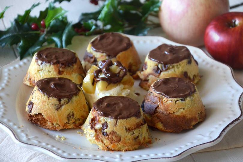 Tortine di panettone alle mele  Ricetta Tortine di