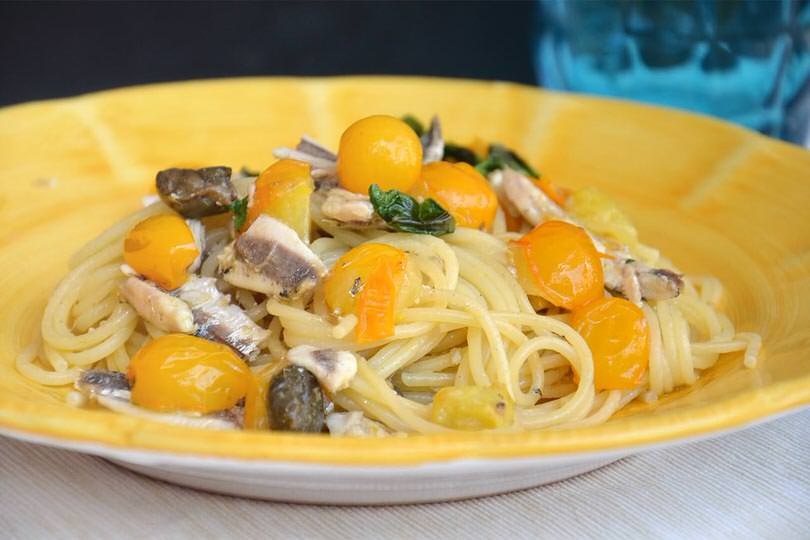 Pasta con le alici  Ricetta Pasta con le alici di Misya