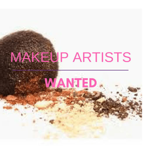 Makeup Artist Wanted – March 2017