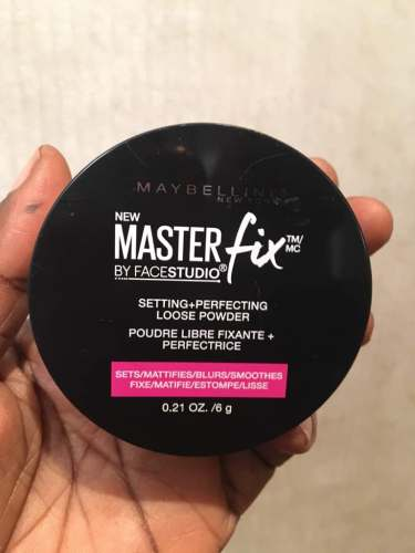 Maybelline Master Fix Setting + Perfecting Loose Powder Review