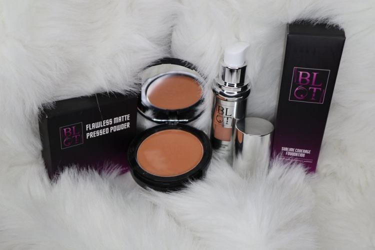 BLOT BEAUTY COSMETICS FOUNDATION AND POWDER REVIEW AND WEAR TEST.