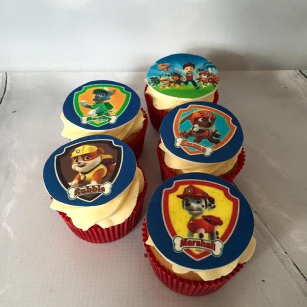 Paw Patrol???? Taart en Cupcakes