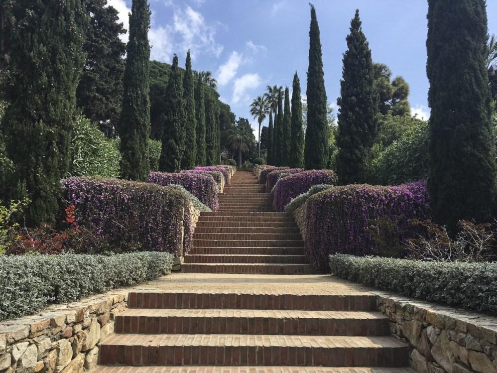 Epikus-Treppe - Jardí Botànic Marimurtra