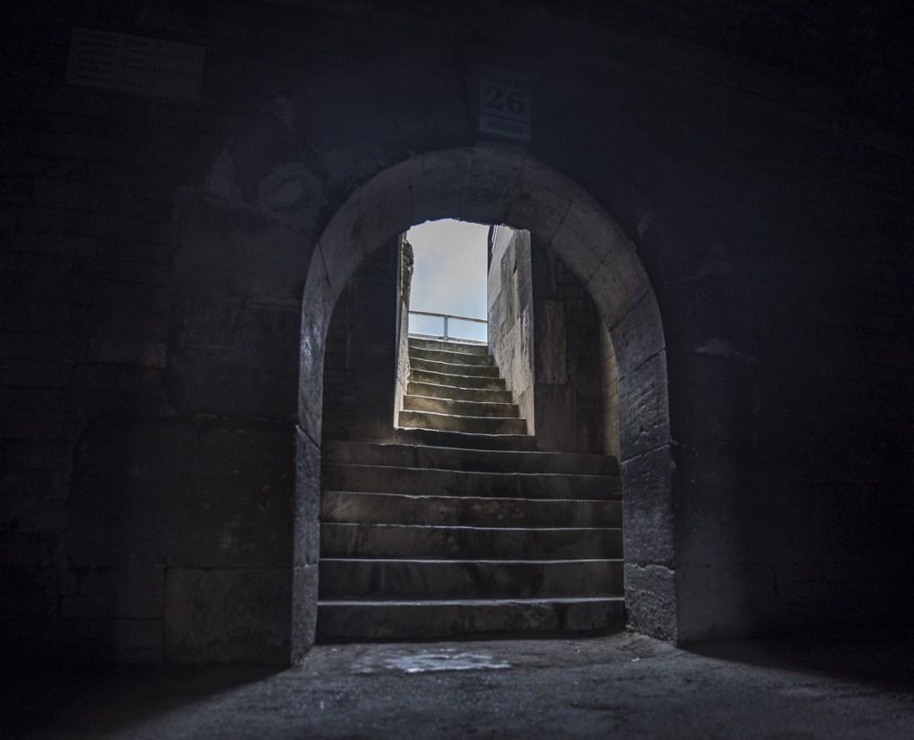 Arles - Arena Katakomben