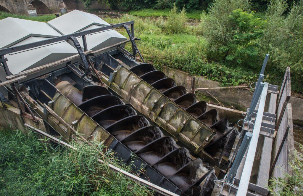 Weser - Wasserkraft an der Blumer Mühle