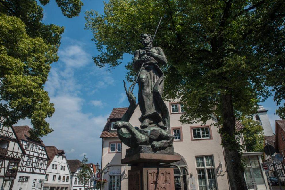Michaelsbrunnen Beverungen