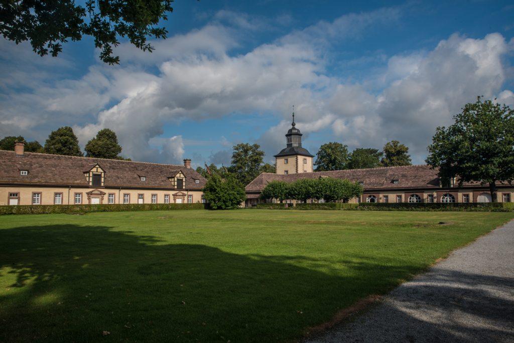 Vorburg, Remise und Nordturm Kloster Corvey