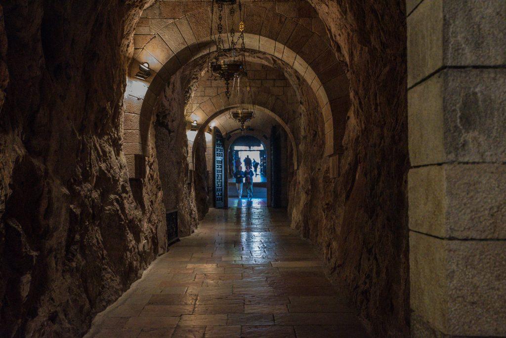Tunnel zu Grotte - Covadonga