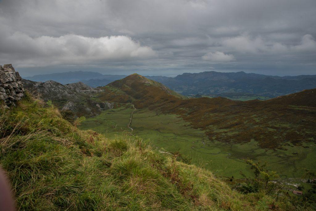 Blick nach Nordwesten II - Mirador de la Príncipe - Covadonga