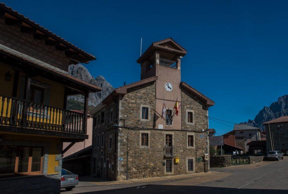 Rathaus Posada de Valedón - Picos de Europa