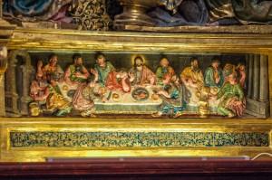 Abendmal - Altarbild - Capilla de la Natividad de la Virgen María
