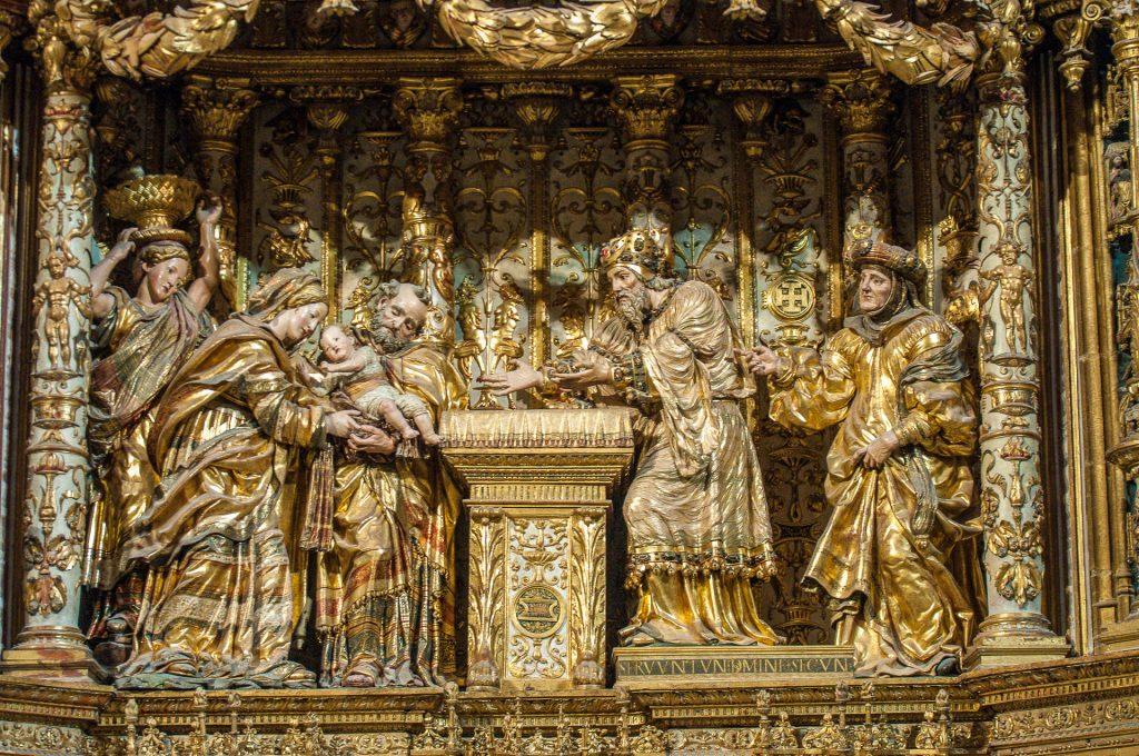 Marias Reinigung Capilla de los Condestables - Catedral de Santa María Burgos