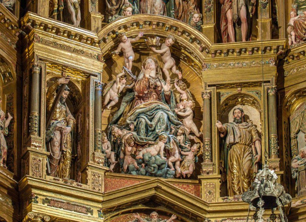 Maria Himmelfahrt - Retablo Mayor Catedral de Santa Maria Burgos