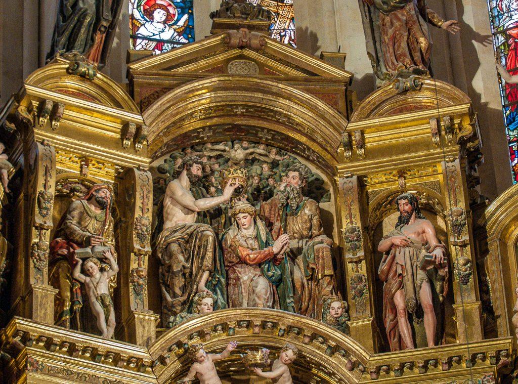 Maria Krönung - Retablo Mayor Catedral de Santa Maria Burgos