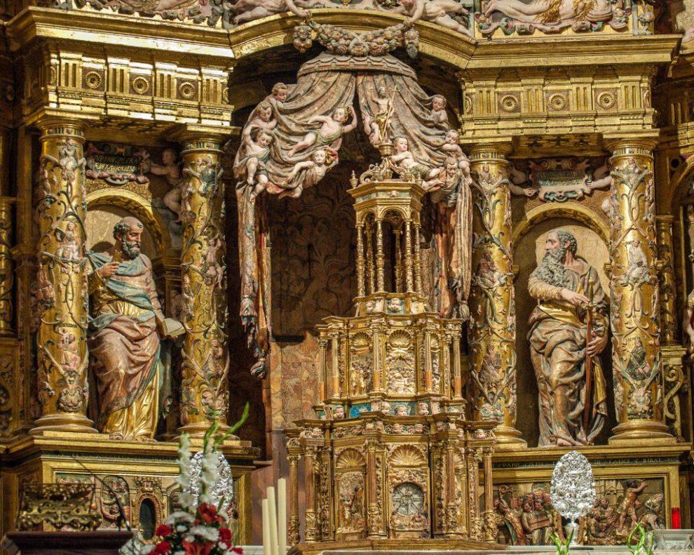 Stiftshütte - Retablo Mayor Catedral de Santa Maria Burgos