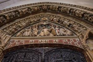 Archivolte Purto del Claustro - Catedral de Santa Maria Burgos
