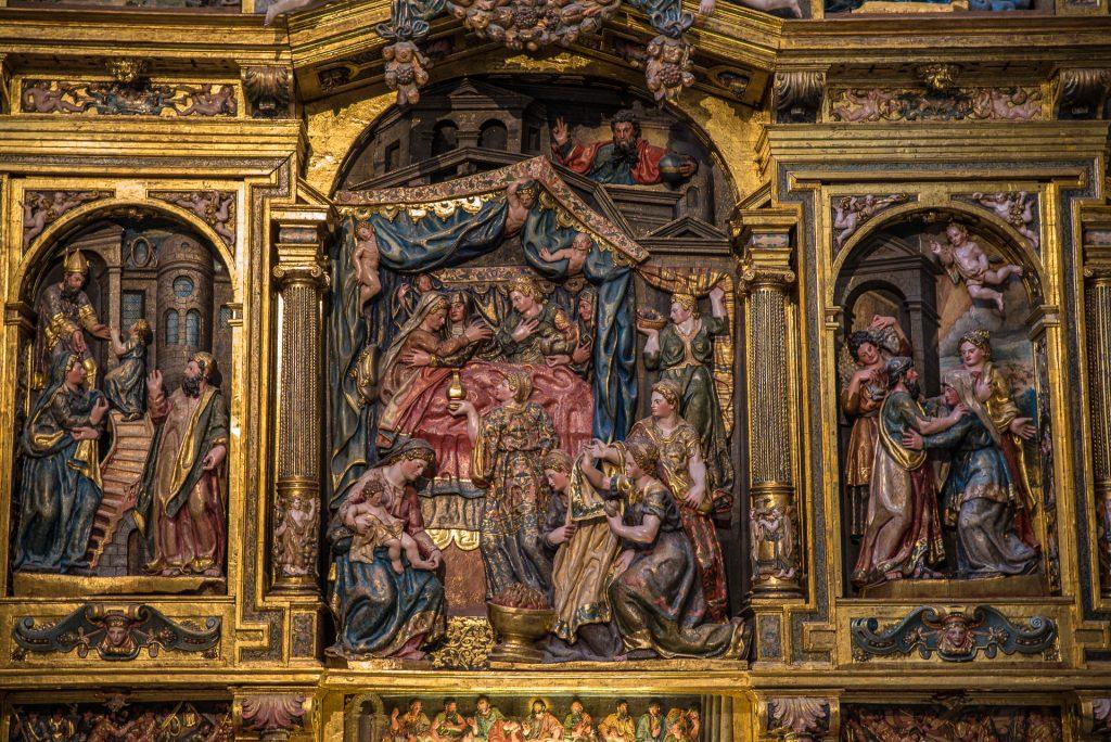 Marias Geburt - Altarbild - Capilla de la Natividad de la Virgen María