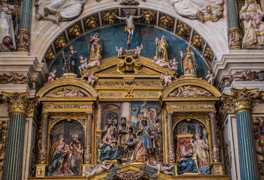 Anbetung der Könige - Altarbild - Capilla de la Natividad de la Virgen María