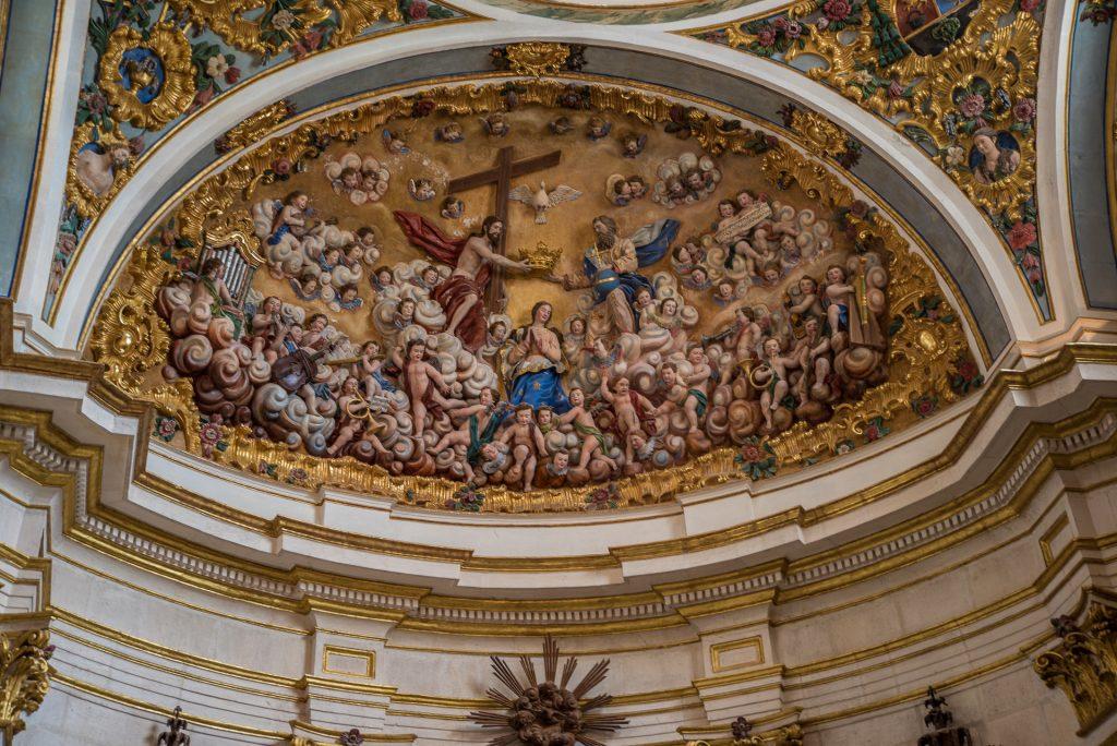Kuppelbild Sacristía Mayor - Catedral de Santa María Burgos