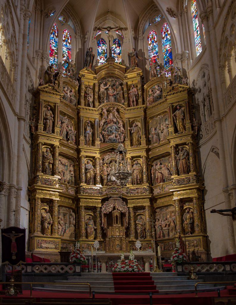 Retablo Mayor - Catedral de Santa María Burgos