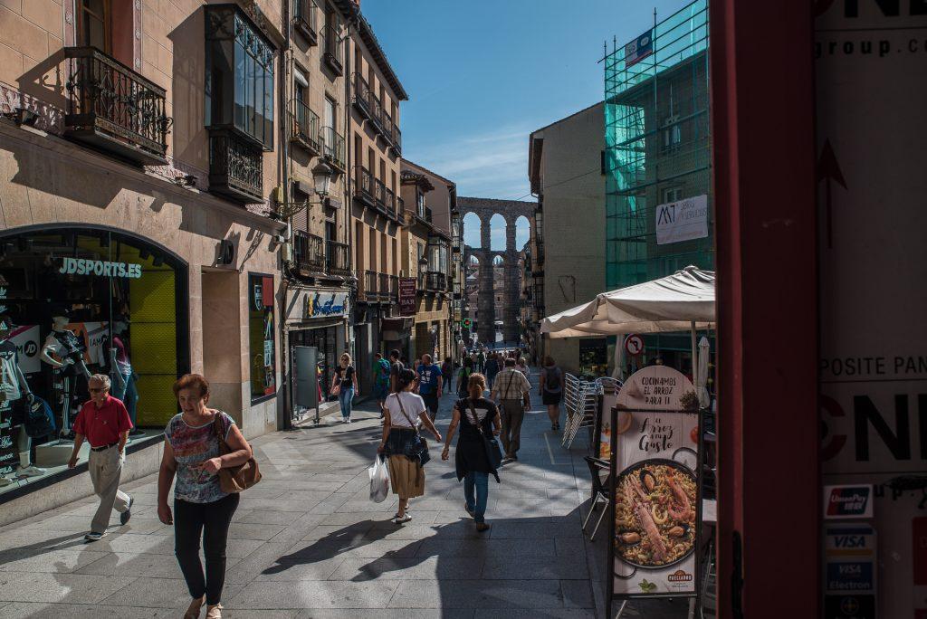 Calle Cervantes - Segovia