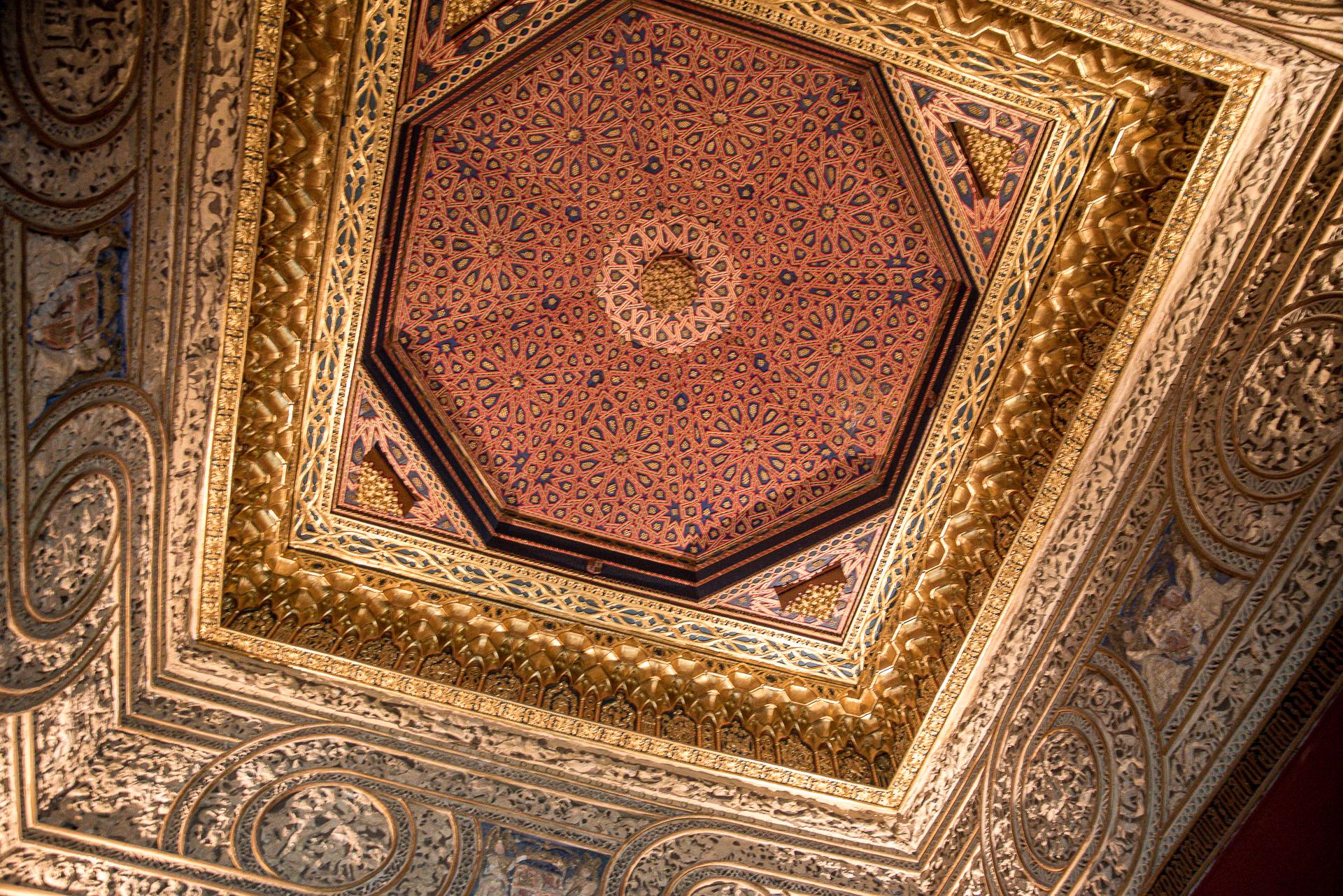 Decke im Thronsaal - Alcázar de Segovia