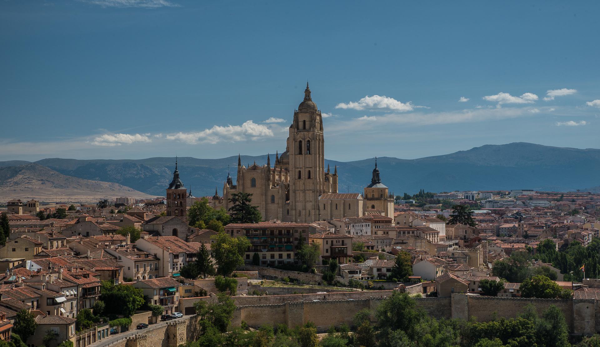 Segovia vom Torre Juan II.