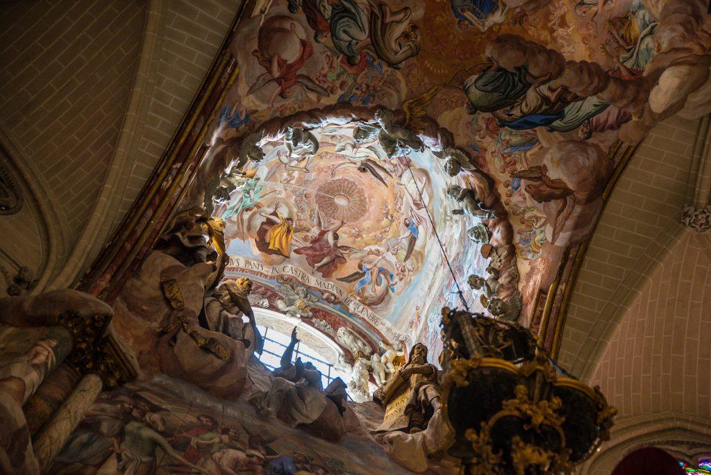 Oberlicht El Transparente - Kathedrale Toledo