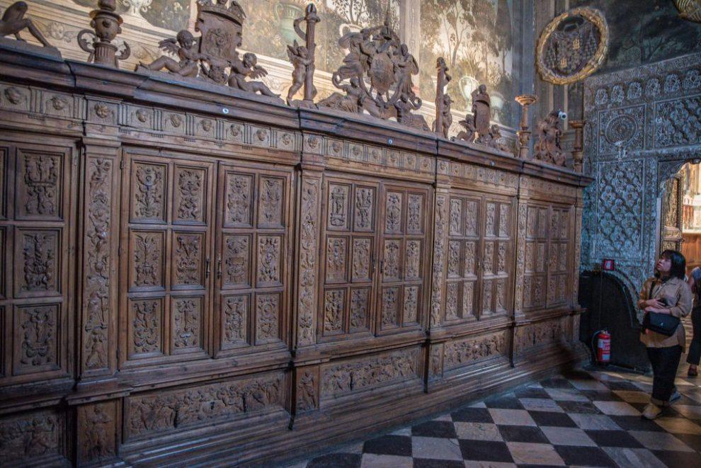Schränke Artesala - Kathedrale von Toledo