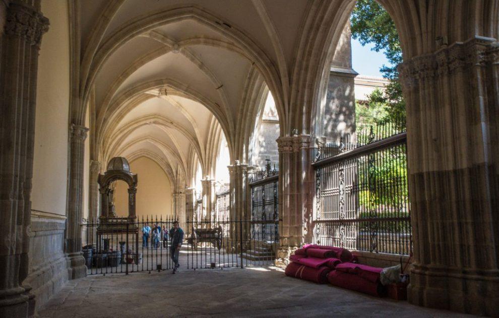 Kreuzgewölbe im Kreuzgang - Kathedrale von Toledo