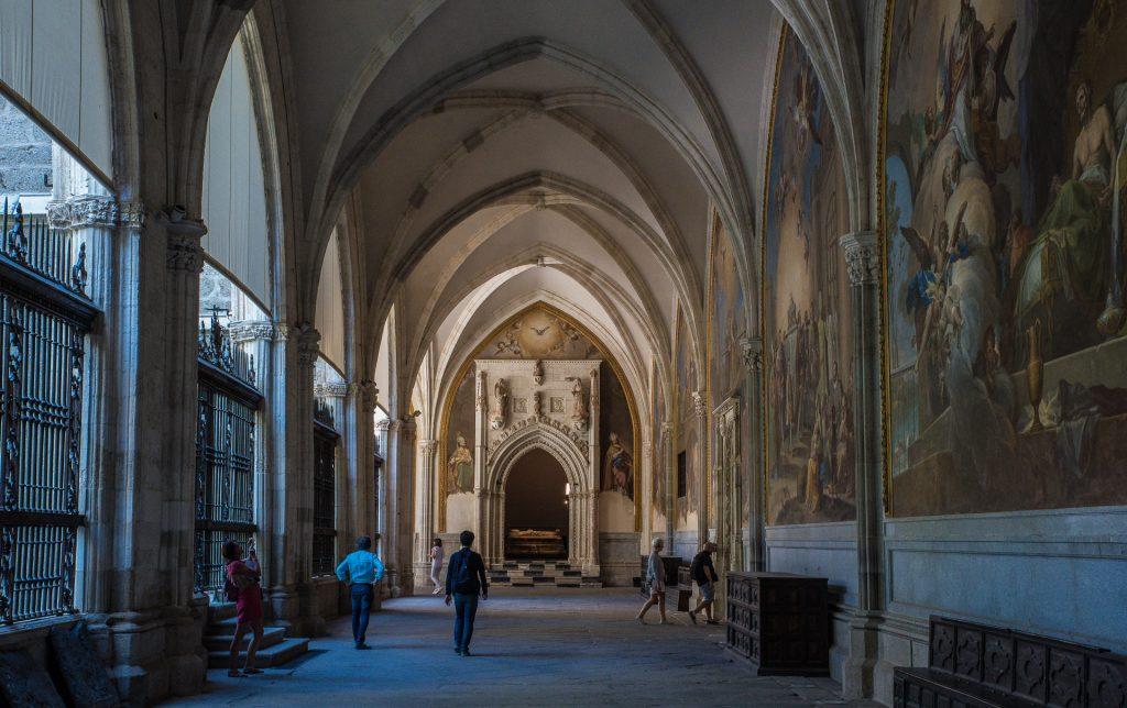 Kreuzgang - Kathedrale von Toledo