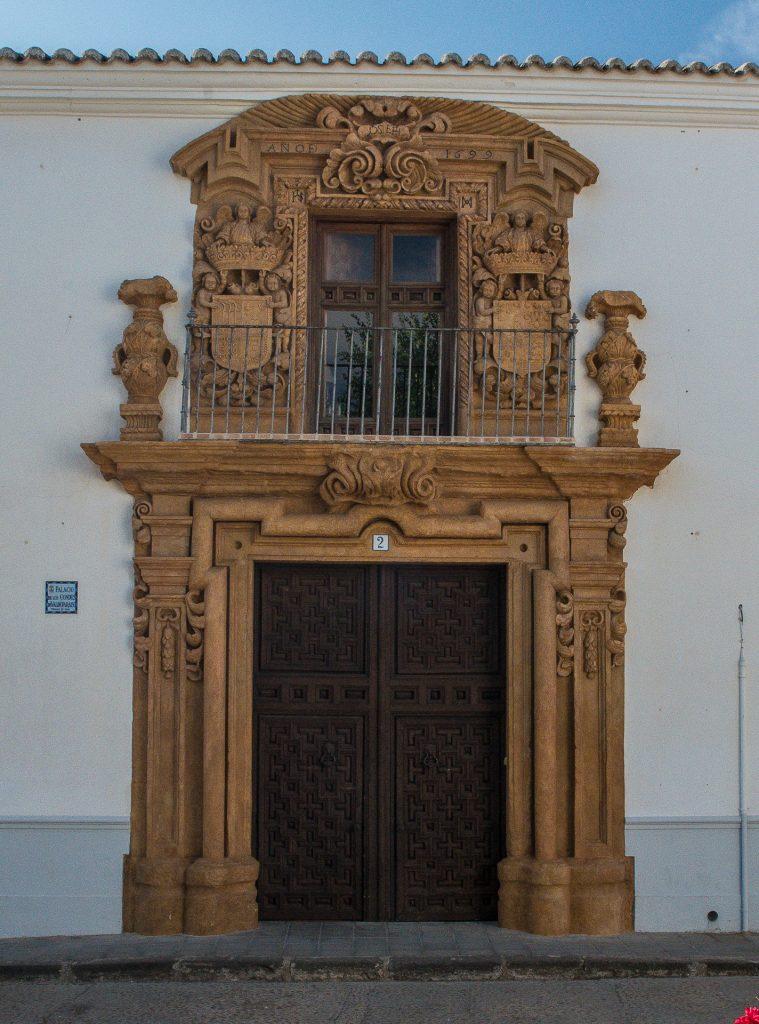 Palacio de los Condes de Valdeparaiso - Almagro