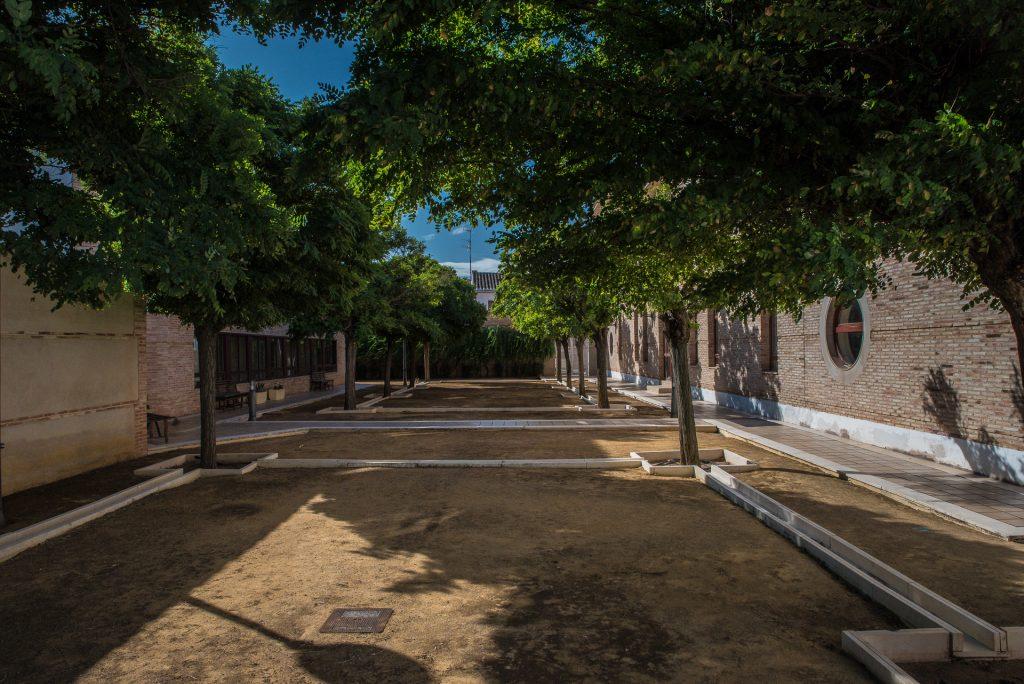 Garten Palacio de los Condes de Valdeparaiso - Almagro