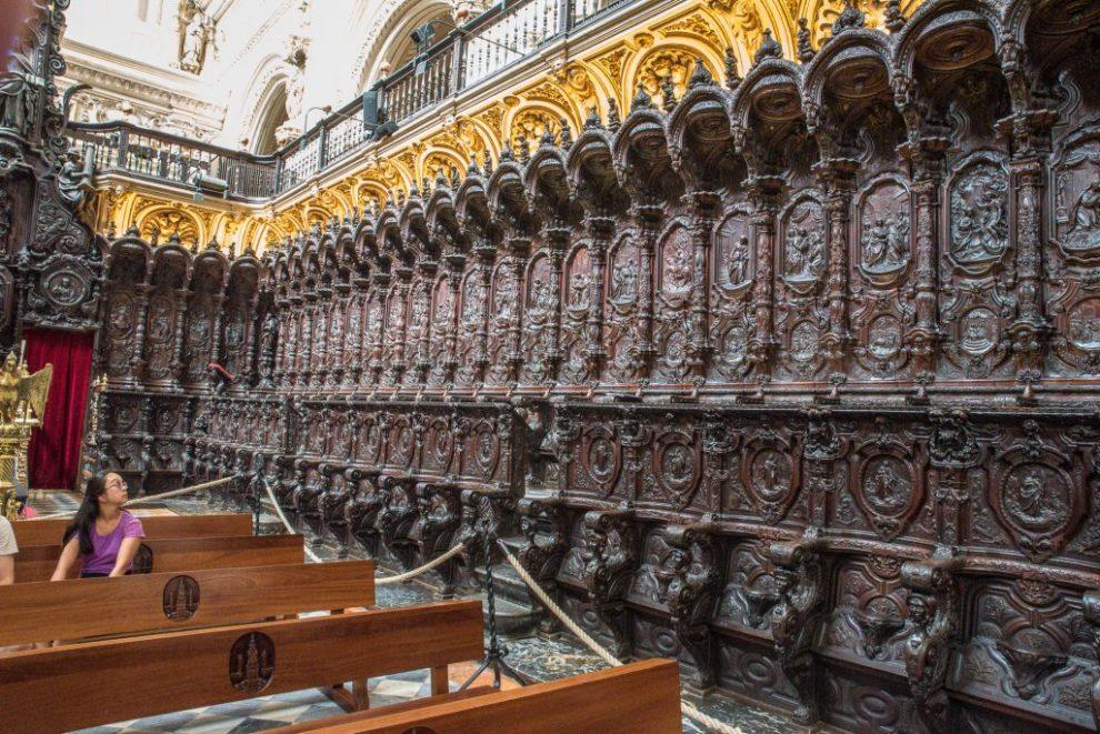 Chorgestühl - Mezquita Catedral Córdoba