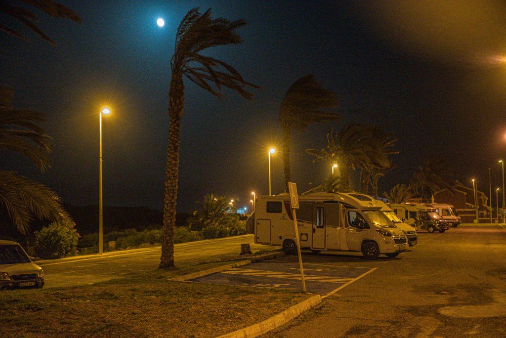 Nacht im Sturm