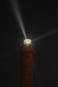 Der Leuchtturm wacht über uns