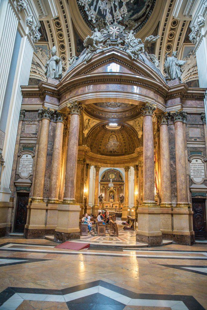 Altar der Nuestra Señora de Pilar - Basilica de Nuestra Señora de Pilar - Zaragoza