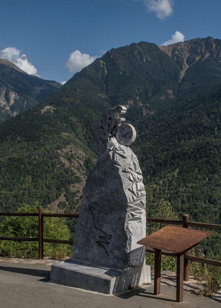 Pyrenäen - Mirador de Bossóst