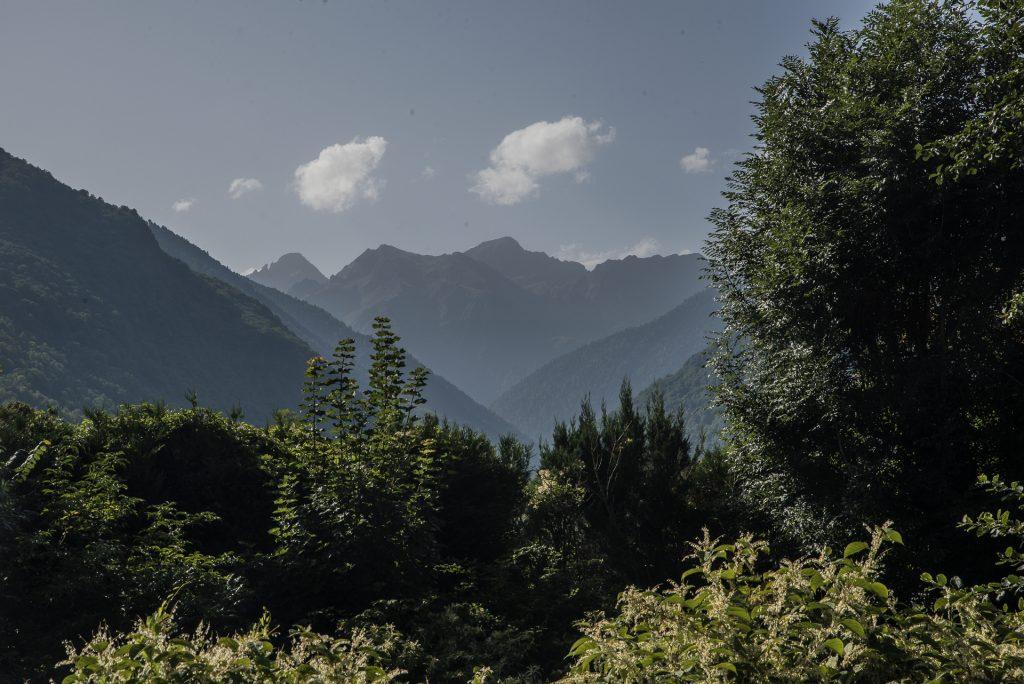 Bergkulissse von Luchon