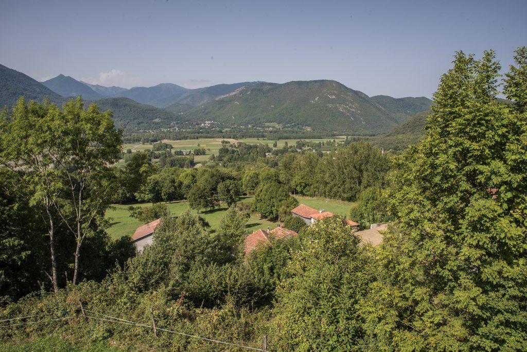 Blick ins Tal der Garonne
