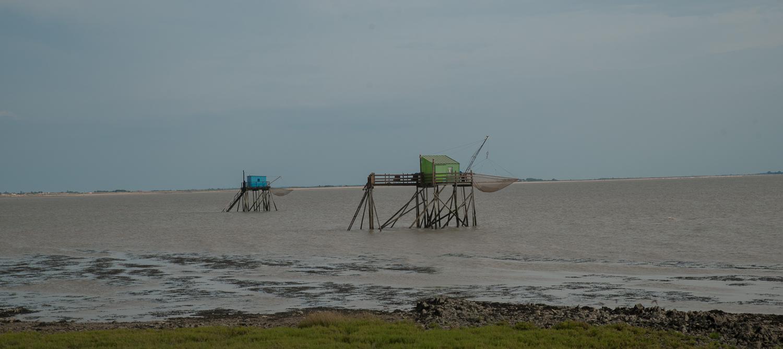 Lange Fahrt zur Île de Madame