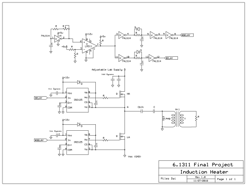 small resolution of circuit design the basic induction heating