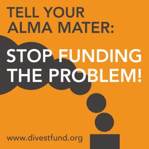 Go to Divest Fund and Donate.