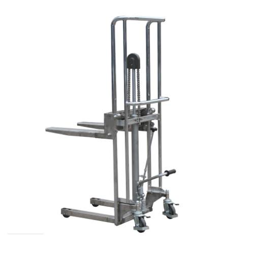 Stainless Steel Stacker- 1.8m Lift / 400kg Capacity
