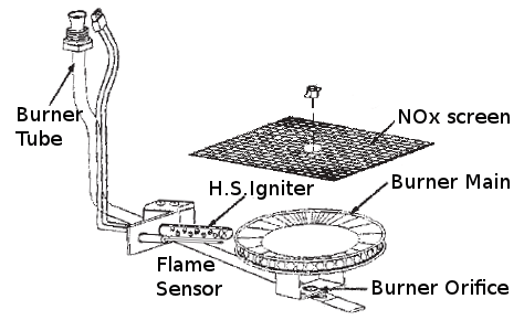 Gas Water Heater Venting Diagram Gas Power Vent Water