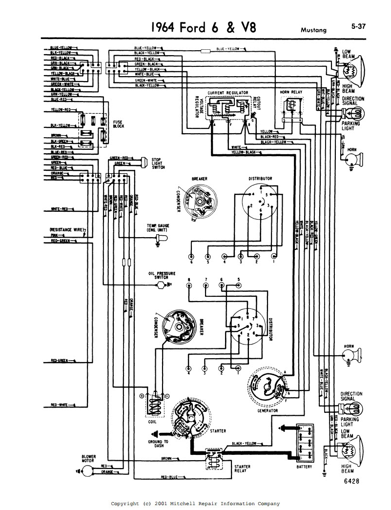 wiring diagram for 1995 mustang audio system
