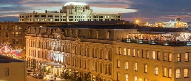 Tremont House Galveston Rooftop View