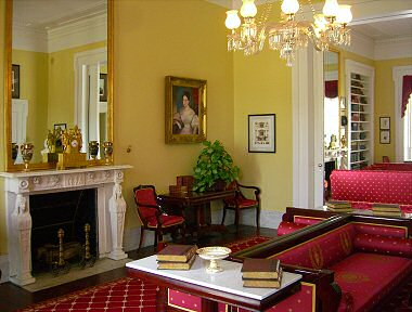 Berry Hill Interior Photographs  Greek Revival Architecture