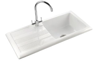small white kitchen sinks lamps for the from mitchells southampton hampshire 023 8077 1004 rangemaster portland sink
